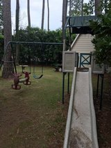 Swingset in Cherry Point, North Carolina