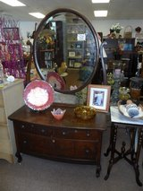 Vintage Dresser and Mirror (reduced from 275) in Cherry Point, North Carolina