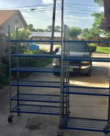 Plastic coated Garage / Shop Shelves in Conroe, Texas