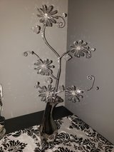 Silver with clear flower in Clarksville, Tennessee
