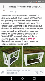 Drawing giveaway!! in Leesville, Louisiana