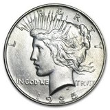 1925 Peace Dollar BU in Leesville, Louisiana