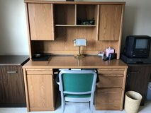 Office desk and chair in Elgin, Illinois