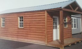 finished cabin in Fort Campbell, Kentucky