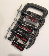 "New Craftsman Iron 4"" C-Clamps in Lockport, Illinois"