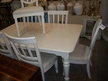 White Table w/ 6 Chairs in Cherry Point, North Carolina