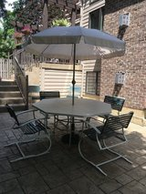Large Patio Table and Chairs in Bolingbrook, Illinois