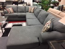 Spacious 3 piece sectional in Cherry Point, North Carolina