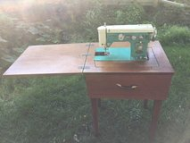 Keystone sewing machine and sewing cabinet in Chicago, Illinois