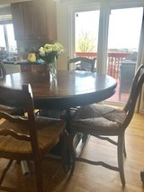 Counter Height Round Table Five chairs in Fort Carson, Colorado