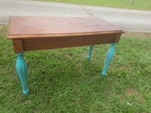 Old Piano Bench Restored Shabby Chic in Camp Lejeune, North Carolina