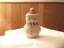 snowman candle in Alamogordo, New Mexico