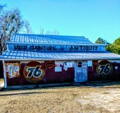 Thriftology in the barn in Cherry Point, North Carolina