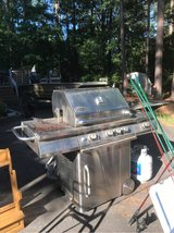 stainless steel propane grill in Fort Polk, Louisiana