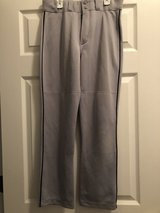 Majestic grey boys Baseball Pants Size Youth L large in Yorkville, Illinois