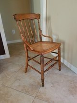 Side Chair with Cane Seat in Kingwood, Texas