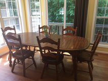 Kitchen table, six chairs in Quantico, Virginia