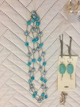 Earrings and necklace in Pasadena, Texas
