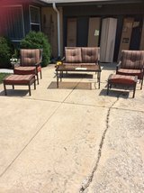 Patio set in Chicago, Illinois