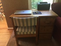 Desk, chair in Quantico, Virginia