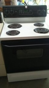 GE electric self cleaning stove in Fort Polk, Louisiana