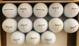 12 Snell used golf balls near mint condition in St. Charles, Illinois