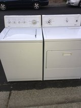 Kenmore Washer and dryer! Delivery available in Fairfield, California