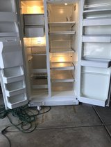 White side by side refrigerator in Plainfield, Illinois