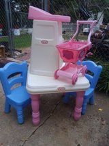 Little Tikes table and chairs with extras in Byron, Georgia
