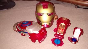 Iron Man mask and accessories in Oswego, Illinois