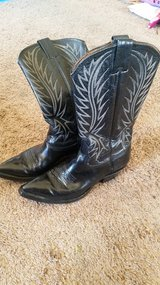 Black Cowboy Boots made in the USA Biltrite in 29 Palms, California