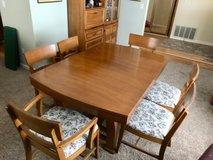 Dining set, 6 chairs, leaves in Fairfield, California