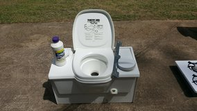 Thetford Cassette Porta Potti for 1999 Coleman Pop-up Camper by Fleetwood Utah in Byron, Georgia