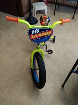 "16"" Mongoose Lil Bubba Boys' Fat Tire Bike, Neon Green in Conroe, Texas"