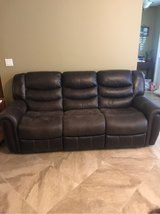 Super comfortable, reclining, matching sofa and love seat in Eglin AFB, Florida