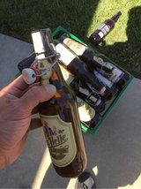 beer bottles with ceramic tops in Travis AFB, California