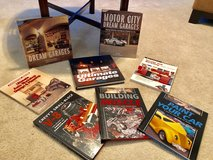 8 New Books About Garages and Cars/Excellent Condition in Beaufort, South Carolina
