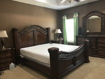 King Size Bedroom Set ( Mattress & Boxspring not included ) in Leesville, Louisiana
