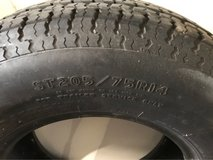 Set of trailer tires in Chicago, Illinois