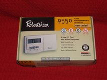 Robertshaw Thermostat 9550 Deluxe Non-Programmable 1 Heat / 1 Cool NEW in Glendale Heights, Illinois