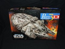 Star Wars Millenium Falcon 3D Puzzle 1995 By Wrebbit in St. Charles, Illinois