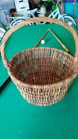 Woven basket in Chicago, Illinois