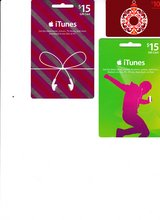 iTunes Gift Cards ($40 worth of cards for $25) in Chicago, Illinois