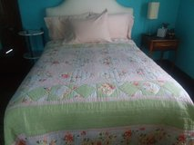 Queen Sized Quilted Comforter in Oswego, Illinois