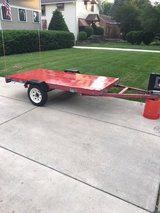 Trailer 4x8' - Great Condition in Naperville, Illinois