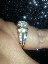 14k Yellow Gold Diamond Ring in Tinley Park, Illinois