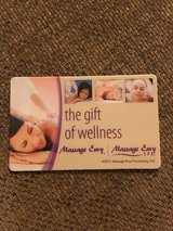 $90. Massage Envy gift card in Conroe, Texas