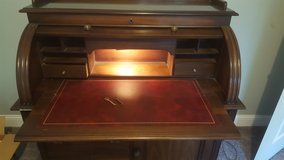 Solid Wood Roll-Top desk in Aurora, Illinois