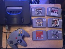 N64 w 6 games in Orland Park, Illinois