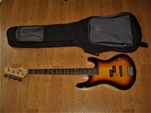 Canvas 4 Strings Bass Guitar GTFB10PJ/3T - Excellent Condition! in Moody AFB, Georgia